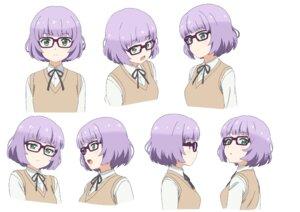 Rating: Safe Score: 11 Tags: character_design expression megane sakura_maiko sora_to_umi_no_aida sweater User: saemonnokami