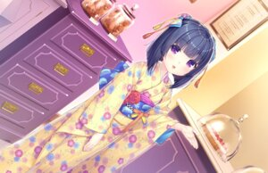 Rating: Safe Score: 25 Tags: game_cg kimono minazuki_shigure neko_works nekopara sayori User: BattlequeenYume