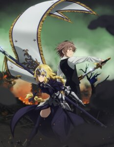 Rating: Safe Score: 32 Tags: armor fate/apocrypha fate/stay_night ruler_(fate/apocrypha) sieg_(fate/apocrypha) sword tagme thighhighs User: saemonnokami