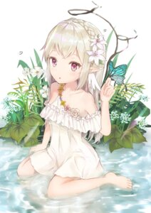 Rating: Safe Score: 39 Tags: dress elf gaaratelier pointy_ears wet wet_clothes User: yanis