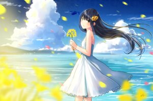 Rating: Safe Score: 22 Tags: dress kazuharu_kina see_through skirt_lift summer_dress User: Mr_GT
