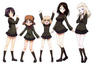 Rating: Safe Score: 14 Tags: alina_(girls_und_panzer) clara_(girls_und_panzer) girls_und_panzer katyusha nina_(girls_und_panzer) nonna uniform User: drop
