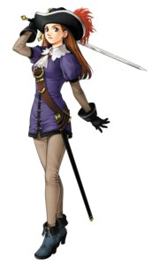 Rating: Safe Score: 3 Tags: dress ishikawa_fumi lilly_pendragon pantyhose suikoden suikoden_iii sword User: Radioactive