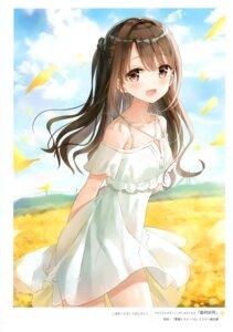 Rating: Safe Score: 58 Tags: dress fuumi radial_engine shimamura_uzuki skirt_lift summer_dress the_idolm@ster the_idolm@ster_cinderella_girls User: kiyoe