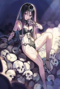 Rating: Safe Score: 75 Tags: bikini_armor cleavage dc_comics enchantress_(dc) shiroji tattoo User: Mr_GT