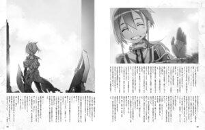 Rating: Safe Score: 4 Tags: bunbun minowa_gin monochrome washio_sumi_wa_yuusha_de_aru weapon yuuki_yuuna_wa_yuusha_de_aru User: minakomel
