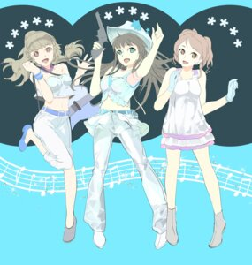 Rating: Safe Score: 18 Tags: 119 dress gun houjou_karen kamiya_nao shibuya_rin the_idolm@ster the_idolm@ster_cinderella_girls User: Radioactive