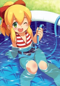 Rating: Safe Score: 27 Tags: bikini inou_shin rockman roll swimsuits wet User: Tonkin