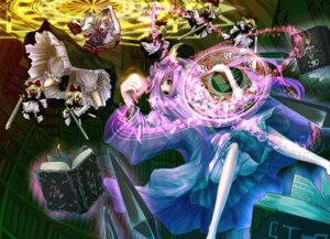 Rating: Safe Score: 4 Tags: alice_margatroid beshi bloomers patchouli_knowledge touhou User: Radioactive