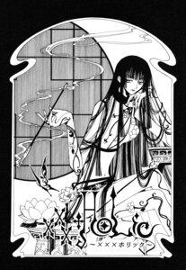 Rating: Safe Score: 3 Tags: clamp ichihara_yuuko monochrome xxxholic User: charunetra