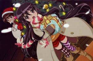 Rating: Safe Score: 17 Tags: aizawa_sumie christmas sakai_yuuji shakugan_no_shana shana User: 刀尖上的西瓜