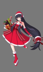 Rating: Questionable Score: 11 Tags: christmas cleavage dress rumaki User: cgcat