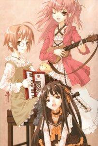 Rating: Safe Score: 10 Tags: closet_child dress fixed guitar komorebi_ni_yureru_tama_no_koe konoe_ototsugu lolita_fashion megane User: petopeto