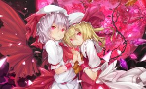 Rating: Safe Score: 20 Tags: flandre_scarlet ogipote remilia_scarlet touhou User: Radioactive