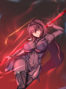 Rating: Questionable Score: 25 Tags: bodysuit erect_nipples fate/grand_order scathach_(fate/grand_order) tagme weapon User: chihaya-kagetsuya