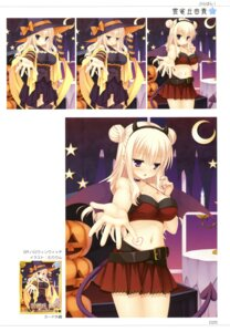Rating: Safe Score: 35 Tags: bra-ban! cleavage halloween hibarigaoka_yuki horns muririn tail thighhighs wings witch yuzu-soft User: Twinsenzw