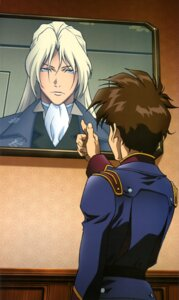 Rating: Questionable Score: 6 Tags: gundam gundam_wing heero_yuy male uniform zechs_merquise User: drop