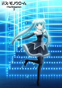 Rating: Safe Score: 13 Tags: dress heels miss_monochrome miss_monochrome_(character) tagme thighhighs User: saemonnokami