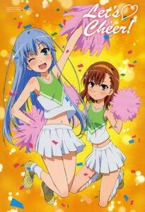Rating: Safe Score: 40 Tags: cheerleader index misaka_mikoto ootsuka_mai to_aru_majutsu_no_index User: SubaruSumeragi
