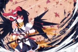Rating: Safe Score: 27 Tags: auer shameimaru_aya touhou wallpaper wings User: Mr_GT