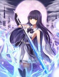 Rating: Safe Score: 33 Tags: dress nani_(goodrich) sword thighhighs User: AnoCold