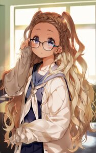 Rating: Safe Score: 53 Tags: megane seifuku starpri sweater User: Mr_GT
