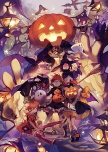 Rating: Safe Score: 19 Tags: dress halloween lee_hyeseung megane thighhighs witch User: Mr_GT