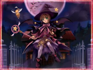 Rating: Safe Score: 14 Tags: bloomers card_captor_sakura kerberos kinomoto_sakura moonknives wallpaper witch User: bluestorm