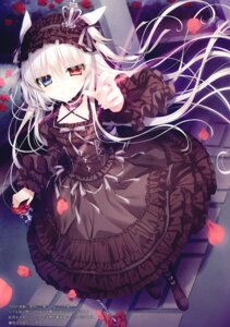 Rating: Safe Score: 33 Tags: animal_ears dress gothic_lolita heterochromia lolita_fashion tsukikage_nemu User: kiyoe