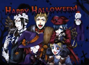 Rating: Safe Score: 8 Tags: animal_ears bard ciel_phantomhive eyepatch finnian halloween kuroshitsuji megane meirin sebastian_michaelis tanaka witch User: charunetra