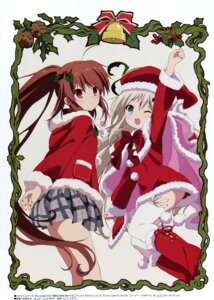 Rating: Safe Score: 50 Tags: ass christmas little_busters! natsume_rin noumi_kudryavka seifuku tagme thighhighs User: Radioactive