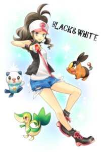 Rating: Safe Score: 14 Tags: hoshino oshawott pokemon pokemon_black_and_white snivy tepig touko_(pokemon) User: Nekotsúh