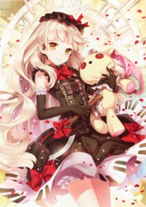 Rating: Safe Score: 136 Tags: dress lolita_fashion mayu_(vocaloid) nardack vocaloid User: yong