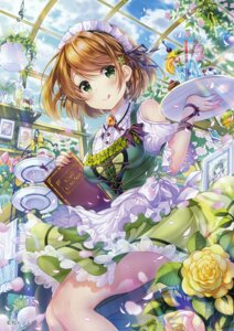 Rating: Safe Score: 43 Tags: koizumi_hanayo love_live! maid momo_moyon waitress User: Hatsukoi
