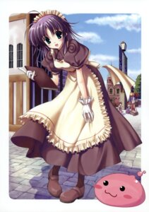 Rating: Safe Score: 19 Tags: kafra_girl maid nanao_naru poring ragnarok_online User: crim