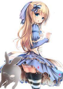 Rating: Questionable Score: 137 Tags: alice alice_in_wonderland apple228 ass dress pantsu stockings thighhighs User: Mr_GT