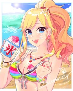 Rating: Questionable Score: 14 Tags: bikini_top cleavage ootsuki_yui swimsuits the_idolm@ster the_idolm@ster_cinderella_girls tomato_omurice_melon User: animeprincess