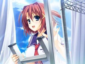 Rating: Safe Score: 34 Tags: akabeisoft2 game_cg kourin_no_machi_lavender_no_shoujo seifuku suzuki_haruka yuuki_hagure User: abdulaziz5