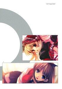 Rating: Safe Score: 13 Tags: cradle gothic_lolita kanban_musume lolita_fashion misaki_kurehito seifuku thighhighs User: Aurelia