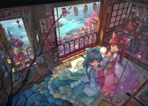Rating: Safe Score: 37 Tags: hakurei_reimu hieda_no_akyuu kochiya_sanae sanntouhei touhou User: Mr_GT