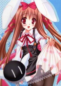 Rating: Questionable Score: 23 Tags: animal_ears bunny_ears moekibara_fumitake pantsu pantyhose piz purism_egoist User: Gekisoku