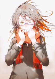Rating: Safe Score: 27 Tags: duplicate fuyuno_haruaki headphones megane techno_fuyuno User: Prishe