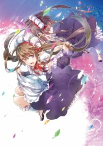 Rating: Safe Score: 38 Tags: digital_version heels maid outbreak_company pointy_ears skirt_lift yuugen User: Twinsenzw