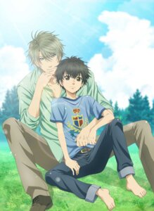Rating: Safe Score: 7 Tags: digital_version feet kaidou_haru kaidou_ren male super_lovers User: blooregardo