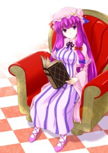 Rating: Safe Score: 12 Tags: hoshino_yami patchouli_knowledge touhou User: Mysterio006