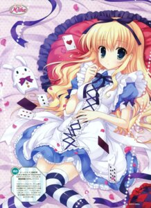 Rating: Safe Score: 40 Tags: alice alice_in_wonderland dress lolita_fashion mitha thighhighs User: crim