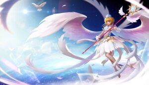 Rating: Safe Score: 18 Tags: card_captor_sakura dress heels kinomoto_sakura liuzexiong tagme weapon wings User: RyuZU