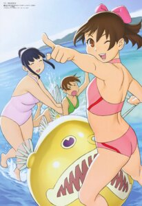 Rating: Questionable Score: 10 Tags: aoi_minamo bikini cleavage itou_yukino mikomoto_sayaka real_drive swimsuits ueyama_tetsurou User: MDGeist