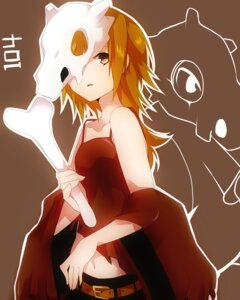 Rating: Safe Score: 26 Tags: anthropomorphization cubone pokemon takeshima_(nia) User: charunetra