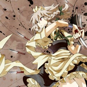 Rating: Safe Score: 14 Tags: gibuchoko izayoi_sakuya maid touhou User: holdomino
